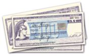 Travellers cheques
