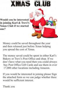 Xmas Club Poster